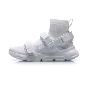 "Li-Ning 2019 New York Fashion Show COUNTERFLOW ""HYBRID"" Men's High Tops Causal Shoes - White"