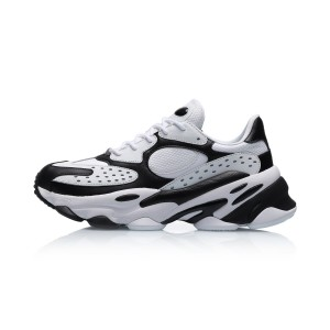 "Li-Ning 2019 Spring ""ALIEN星际"" Men's Retro Daddy Shoes - White/Black"