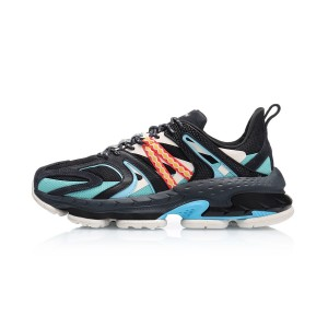 2019 Spring Li-Ning COUNTERFLOW ADAM Men's Fashion Casual Shoes - Black/Blue