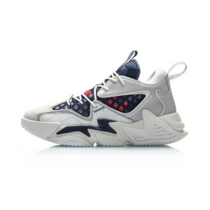 2019 Li-Ning COUNTERFLOW YU YUE 鱼跃 Men's Fashion Casual Shoes - White/Blue