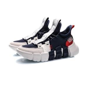Li-Ning 2020 CF COUNTERFLOW Light Wheel Men's Fashion Casual Shoes - Blue/White/Red