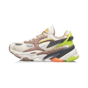 Li-Ning 2020 CF ALIEN 秘语 SILK ROAD Men's Fashion Casual Shoes - White/Green
