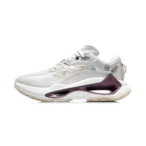 Li-Ning AW2021 Paris Fashion Week Infinity Men's Fashion Casual Shoes - White/Grey
