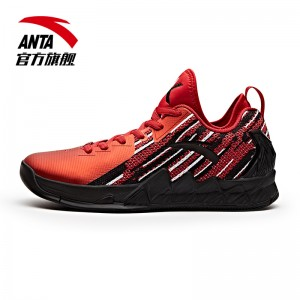 Anta KT2 Klay Thompson 2017 NBA Finals Low - Red/Black