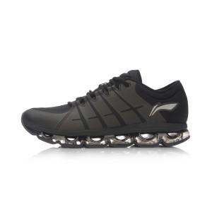 Li Ning 2017 New Air Arc Men's Running Shoes | Lining Running Cushion Trainers - Black/Silver