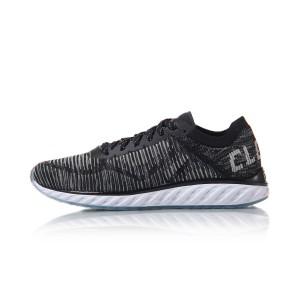 Li Ning 2017 Cloud IV Chic Men's Running Shoes - Black/White
