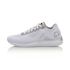 Li Ning 2017 Cloud IV Chic Men's Running Shoes - White/Cool Grey/Silver