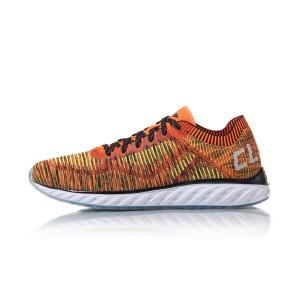 Li Ning 2017 Cloud IV Chic Men's Running Shoes - Orange/Green/Black/White