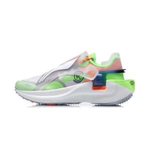 """Paris Fashion Week China Li-Ning FW2020 """"Rangers"""" 游侠 Men's Running Shoes - White/Green"""