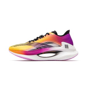 Li-Ning 2020 New 绝影 Essential Boom Men's Running Shoes - Orange/Purple