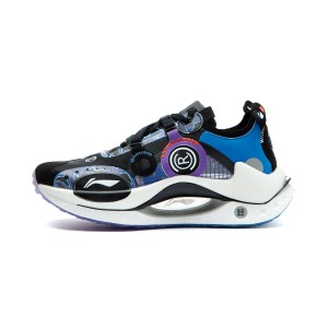 China Li-Ning AW21 Paris Fashion Week 绝影CRC BENG Men's Fashion Running Shoes - Black/Purple