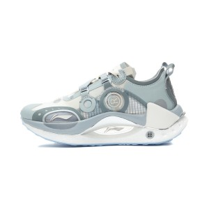 China Li-Ning AW21 Paris Fashion Week 绝影CRC BENG Men's Fashion Running Shoes - Gray/White