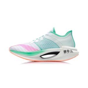 Li-Ning 2020 绝影Essential Men's Bullet Speed Running Shoes - White/Blue