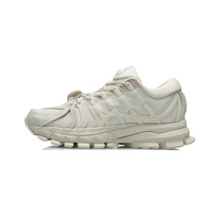China Li-Ning 2021FW Furious Rider ACE 1.5 Men's Cultural Running Shoes - White