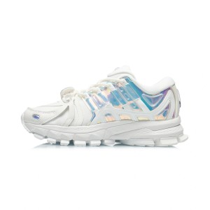 China Li-Ning 21AW Furious Rider ACE 1.5 Women's Cultural Running Shoes - White