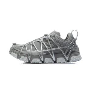 Li-Ning 2021AW Paris Fashion Week MIX ACE Men's Cultural Running Shoes - Gray