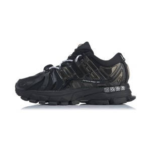 China Li-Ning 2019 New York Fashion Week Show Style Furious Rider ACE 1.5 Men's Stable Running Shoes - Black