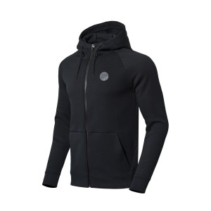 Way of Wade 2018 Fall Men's Hoodie Sweater | Li-ning Sports lifestyle Pullovers - Black [AWDN671-3]
