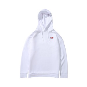 Paris Fashion Week China Li-Ning Men's Hoodie & Pullovers - White