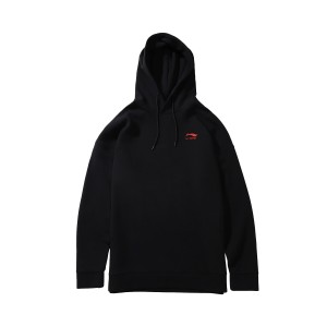 Paris Fashion Week China Li-Ning Men's Hoodie & Pullovers - Black