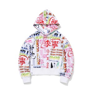 Paris Fashion Week China Li-Ning FW2020 Women's loose Hoodie - AWDQ626-1