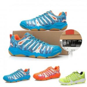 Li-Ning Mens Lin Dan Hero-II TD Badminton Shoes Camo Edition