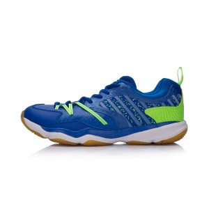 2018 Li-Ning Ranger TD Men's Badminton Training Shoes - Blue [AYTM081-1]