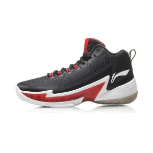 Li-Ning 2017 Michael Carter Williams Power IV Basketball Game Shoes - Black/Red