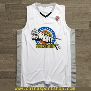 Customized CBA 2016-2017 Champions Xinjiang Flying Tigers Team Jersey | Fans Edition