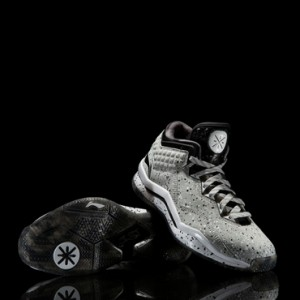 "Li Ning WoW 3.0 Way of Wade 3 ""Grey Boy""-Cool Grey/Black/White"