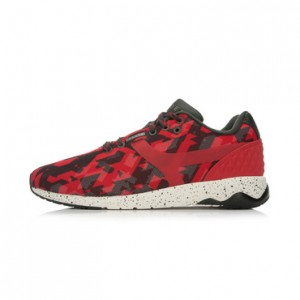 Li-Ning WoW 4 Wade 92 Lifestyle Shoes - Red/Black/White