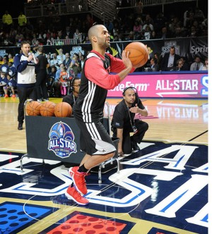 "Peak TP9 Tony Parker 2014 NBA All Star Games ""West Red"" SE"