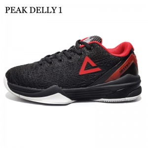 Peak Delly1 Basketball Shoes - Black/Red