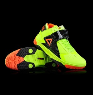 Peak 2016 Monster 3.4 Professional Basketball Shoes - Light Yellow/Black