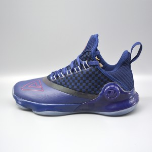 Peak 2018 Tony Parker 6 VI Men's Professional Basketball Shoes - Blue