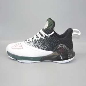 Peak 2018 Tony Parker 6 VI Men's Professional Basketball Shoes - White/Green