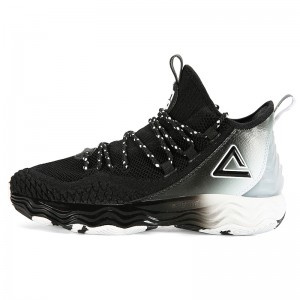PEAK Dwight Howard DH4 Professional Basketball Shoes - Black
