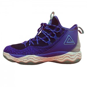 PEAK Dwight Howard DH4 Professional Basketball Shoes - Purple