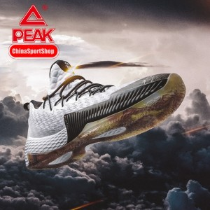 Peak Louis Williams 2019 PLAYOFFS NBA Basketball Shoes - White/Black