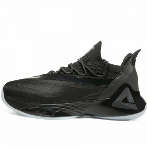 Peak Tony Parker 7 VII PEAK Tp7 Taichi Basketball Shoes - Black