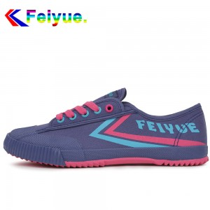 Feiyue Lo Classic Causal Lover's Shoes - Romantic Blue