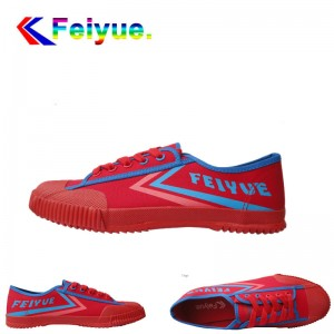 Feiyue Track & Field Unisex Classic Sports Shoes - Red