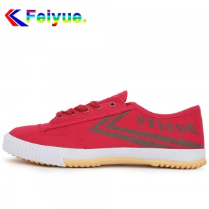 Feiyue Lo Classic Causal Lover's Shoes - Red