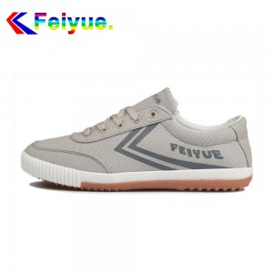Feiyue Classic Low  Fashion Causal Shoes - Grey