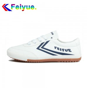 Feiyue Classic Low  Fashionable Causal Shoes - White/Blue
