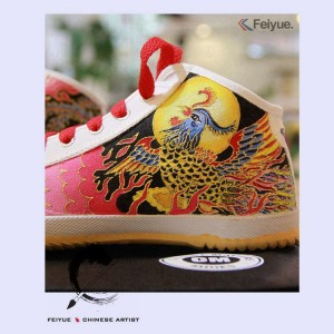 "Custom Feiyue Delta Mid Shoes - ""Phonix"""