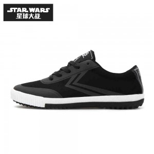 Star Wars x Feiyue Low Top Canvas Shoes 'Darth Vader'