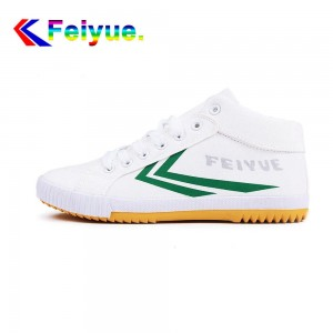 Feiyue Delta Mid  Fashion Causal Shoes - White/Green