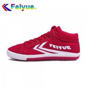 Feiyue Delta Mid  Fashion Causal Shoes - Red