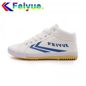 Feiyue Delta Mid  Fashion Causal Shoes - White/Blue